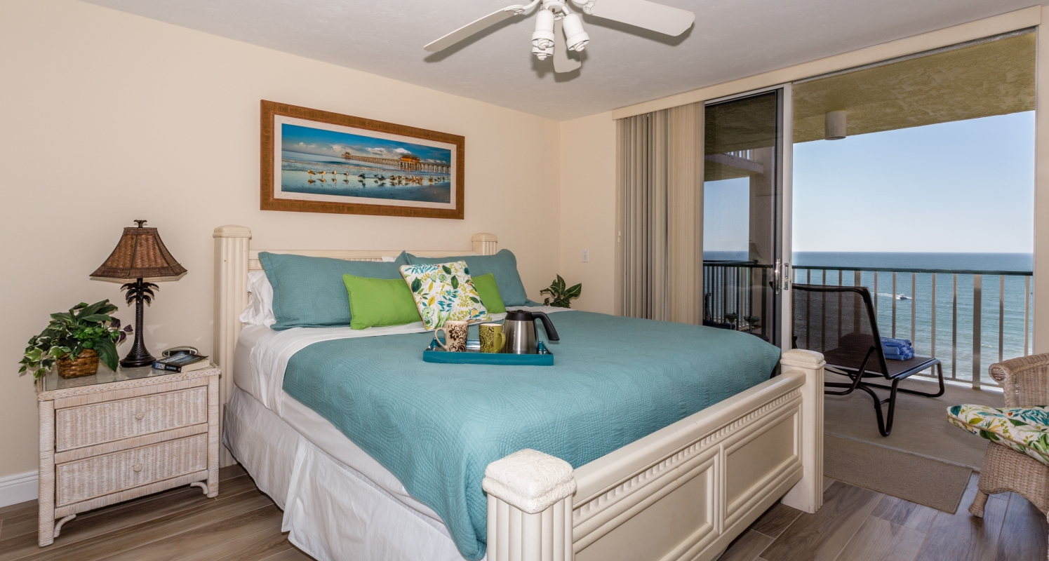 Master Bedroom ensuite with Gulf view