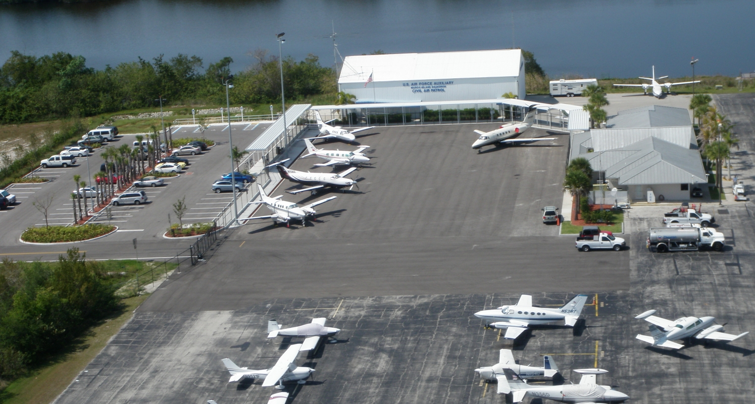 Marco Island Executive Airport, Newly Constructed Apron & Parking Lot