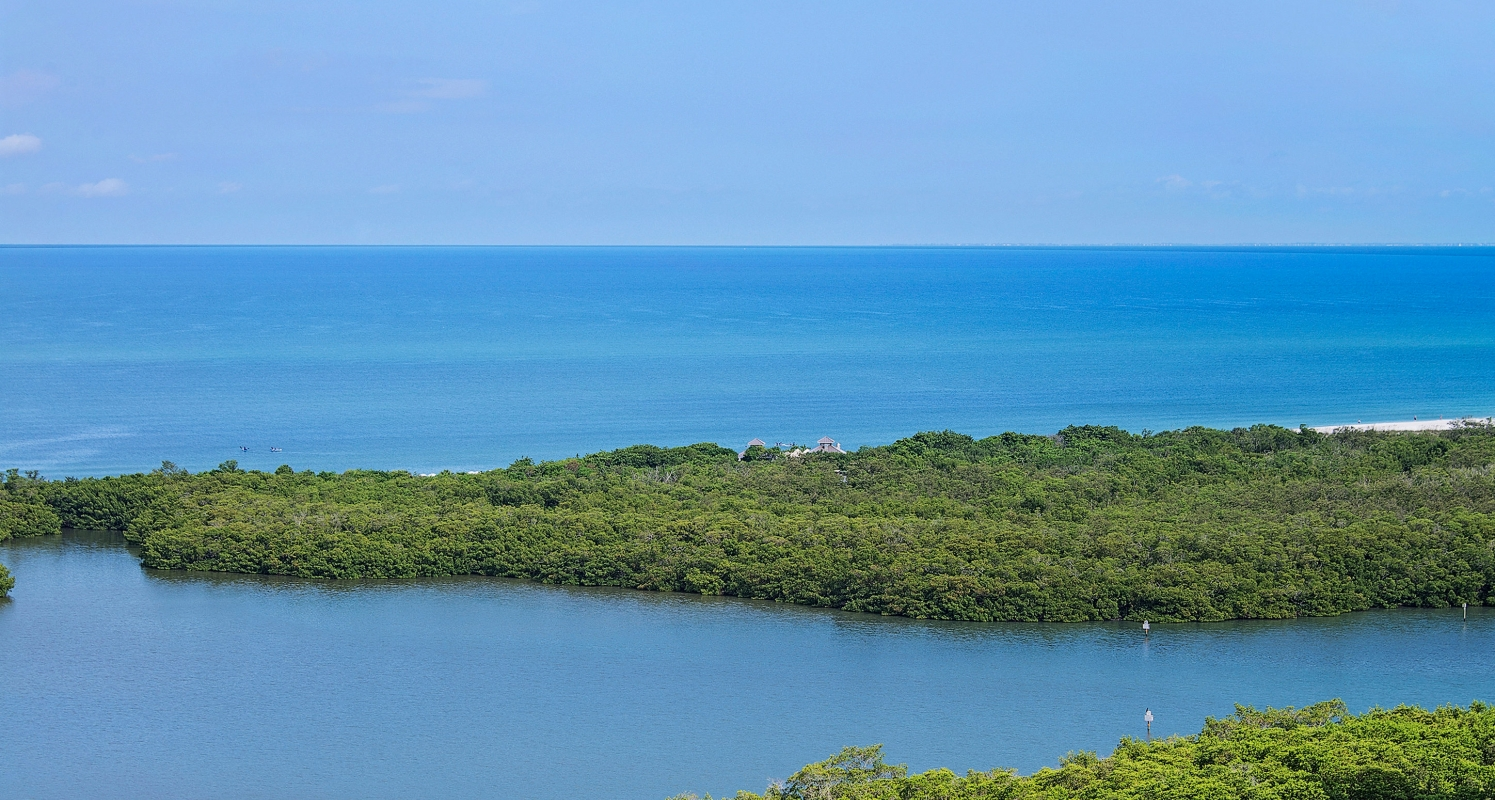 Breathtaking Gulf of Mexico views from furnished, private balconies