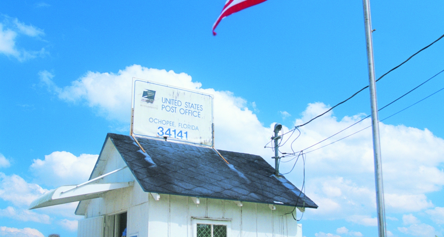 Ochopee Post Office - Smallest post office in the USA.