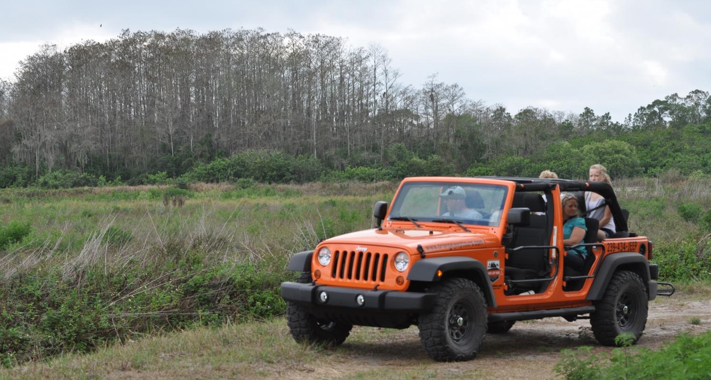 Orange Jeep Tour