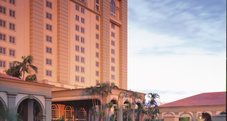 Arrival at The Ritz-Carlton, Naples