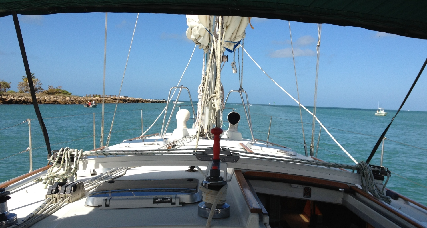 Another beautiful sailing day on the Gulf of Mexico!