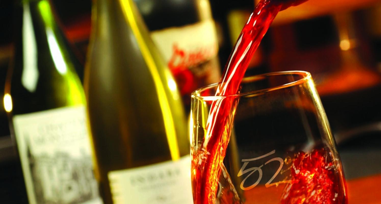 Seasons 52 features an award-winning international wine list.