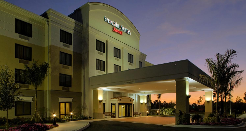 SpringHill Suites Naples Entrance