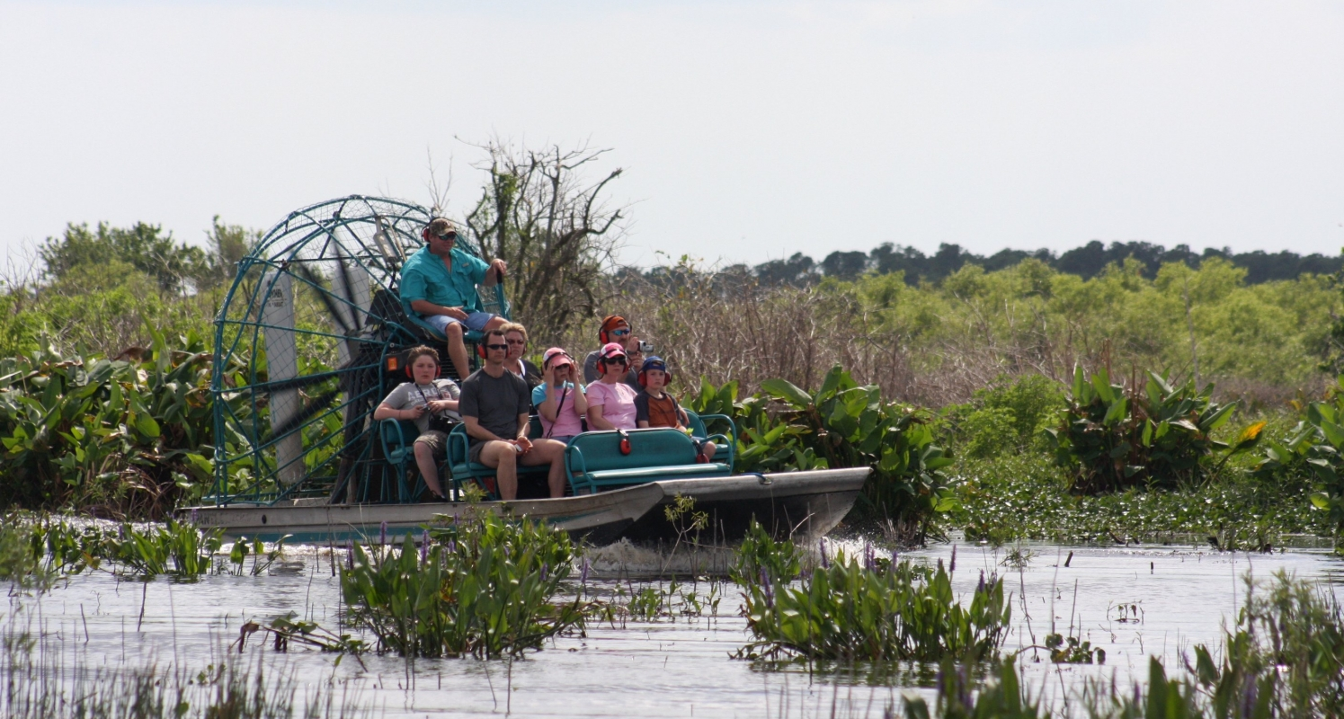 Florida's best airboat ride