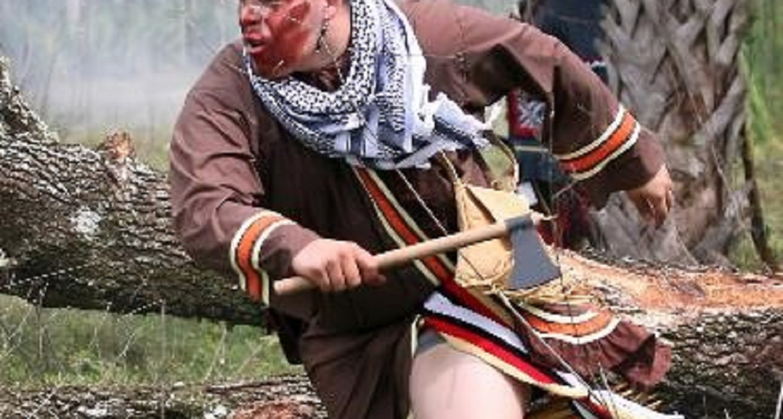 Seminole Shootout Reenactment