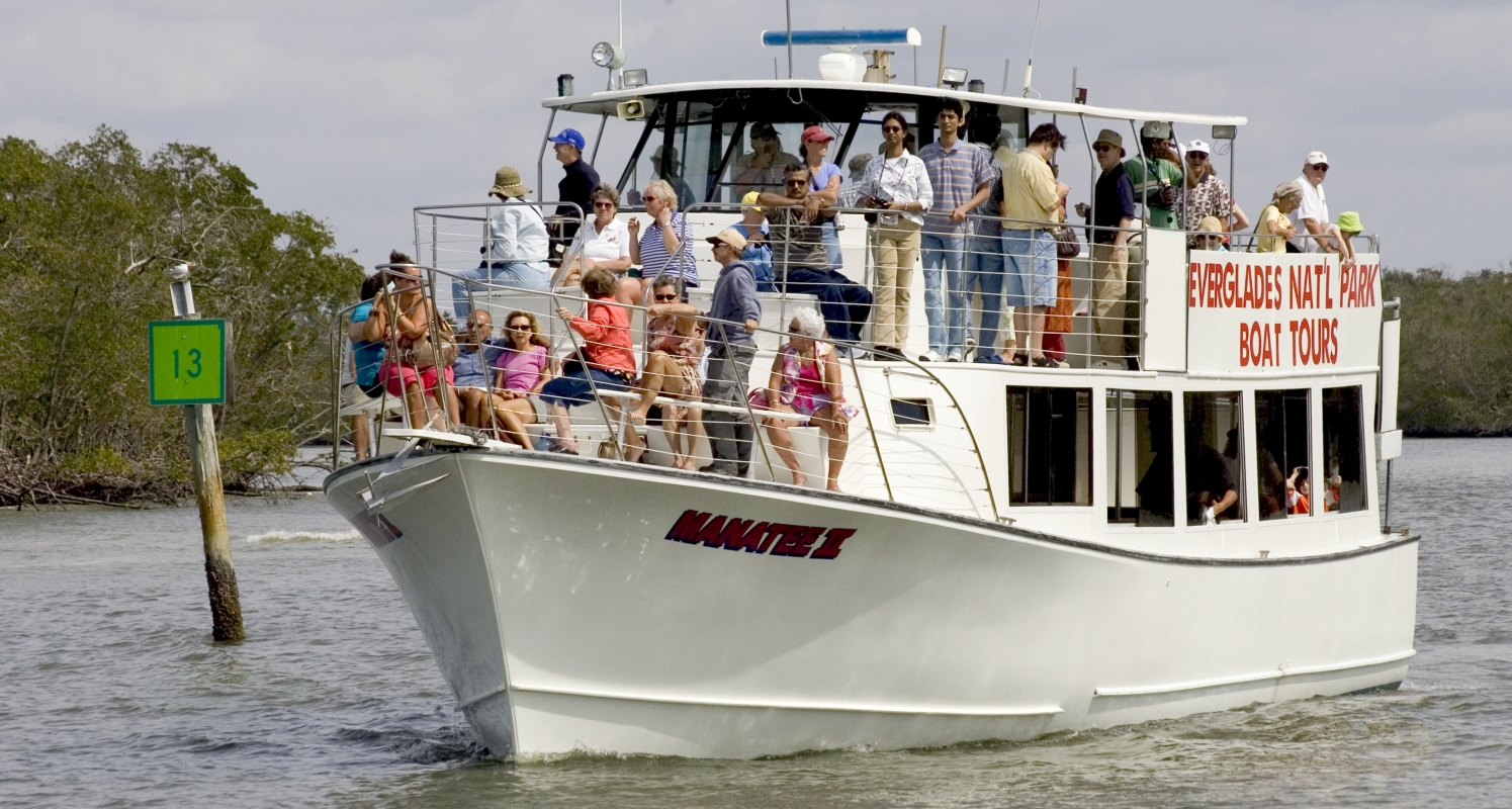 Everglades National Park Boat Tours offer a great way to see this area of the park