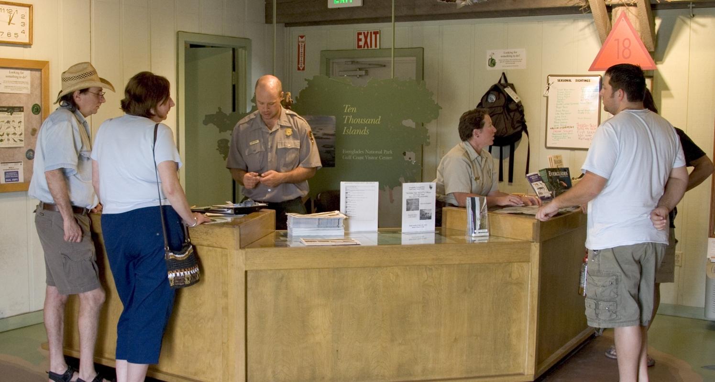 Everglades National Park Gulf Coast Visitor Center is open Year Round