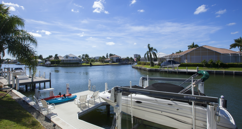 Dock at 410 Edgewater Ct, Marco Island, FL