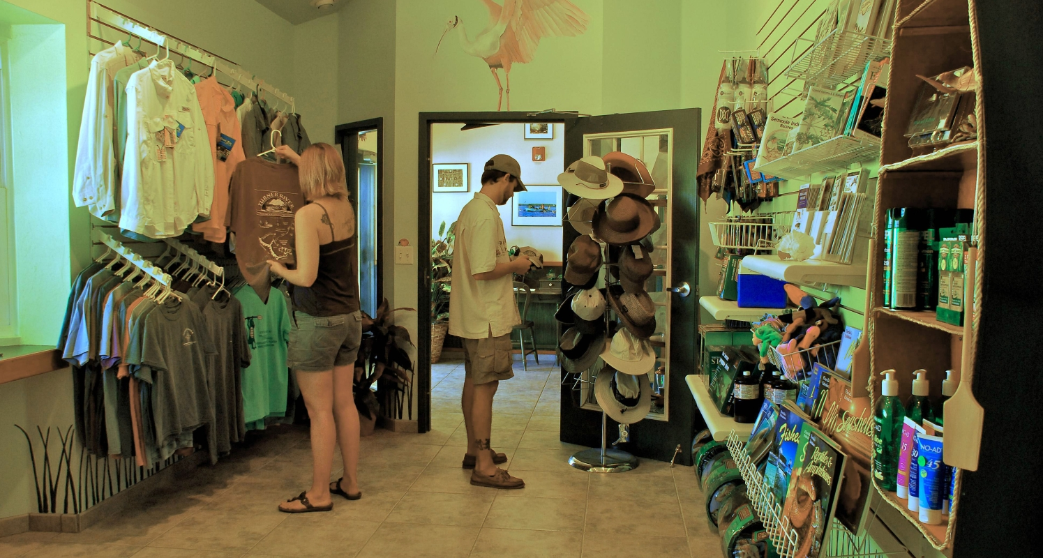 We offer a wide variety of items in our gift shop!
