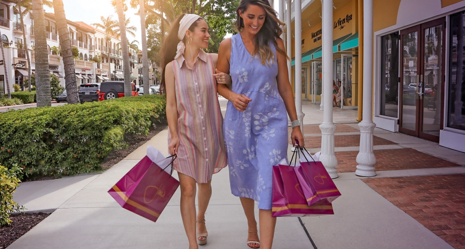 Enjoy shopping on Fifth Ave South.