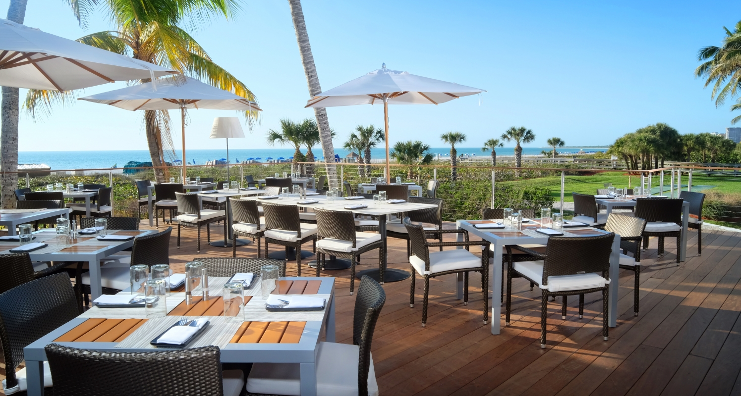 Deck at 560, an upscale restaurant at the Hilton Marco Island, overlooks the Gulf of Mexico.