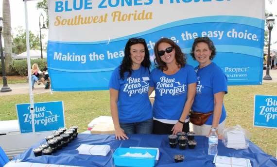Southwest Florida is on its way to becoming a Blue Zones Community®. That means business owners and local residents are focused on improving well-being for their customers, themselves and the entire community.