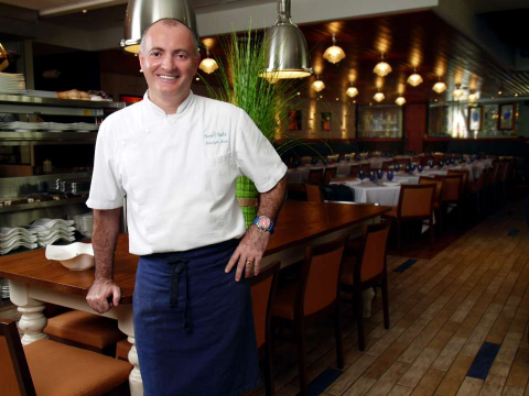 Chef Fabrizio Aielli helms the kitchen at Sea Salt, located on Third Street South in Naples.