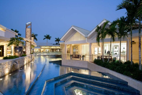 Waterside Shops in Naples, Florida is a designer shopper's paradise.