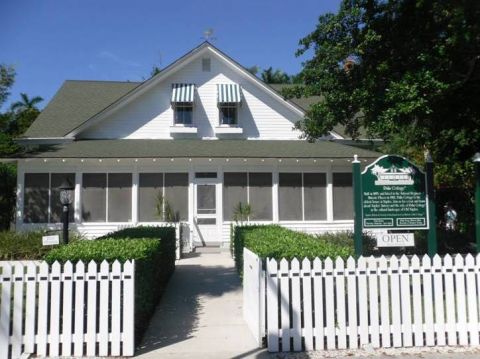 Historic Palm Cottage in Naples, Florida, is Collier County's oldest home.