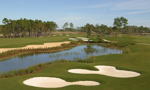 The Rookery Golf Course at Marco Island Beach Resort.