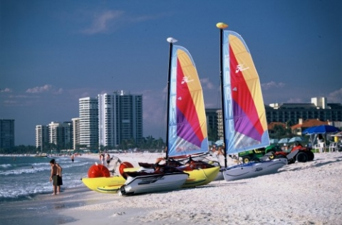 Sailboating in Marco Island