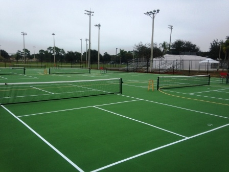 Naples pickleball courts