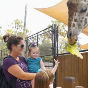 Explore Naples with kids at the zoo.