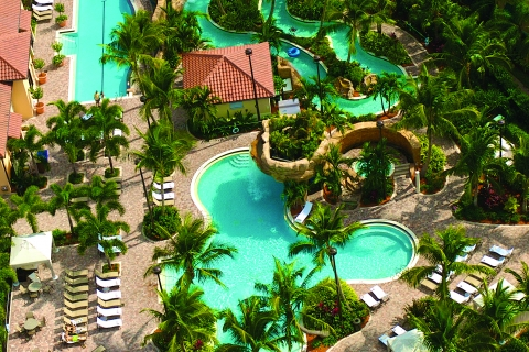 Resort Pool and Lazy River