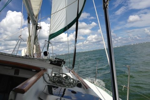 Sailing on the beautiful Gulf of Mexico