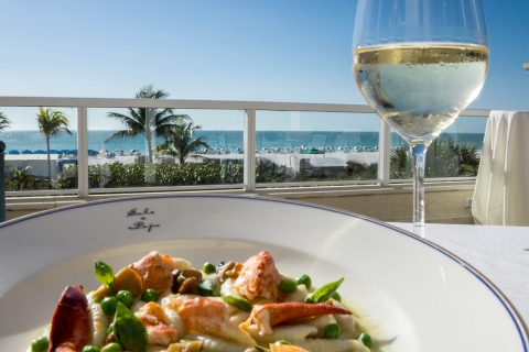 Overlooking the picturesque Gulf of Mexico, Sale e Pepe offers authentic gourmet Italian cuisine in a beautiful beachfront setting. For everyday dining or special occasions, you'll love our relaxed, yet sophisticated atmosphere as you dine alfresco on The Terrace at sunset or in our intimate Dining