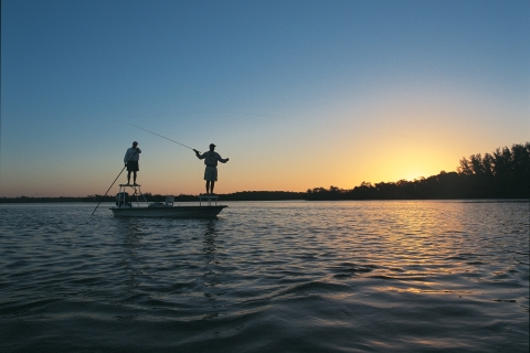 Dicas de pesca e navegação
