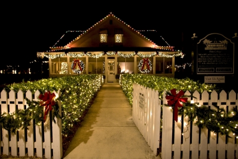 History of The Christmas Tree at Historic Palm Cottage