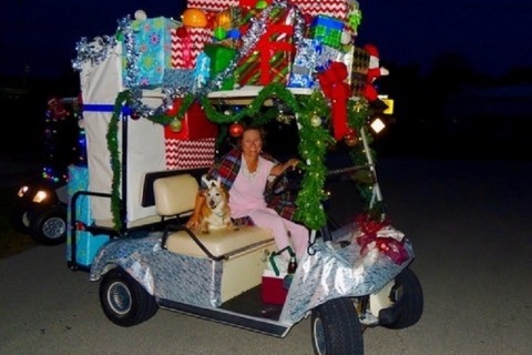 Isles of Capri Christmas Eve Golf Cart Parade