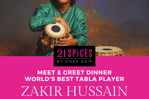 Meet and Greet with Zakir Hussain