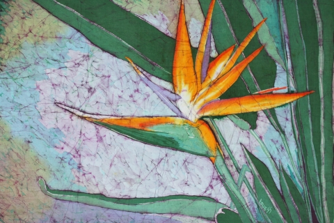 Bird Of Paradise Batik