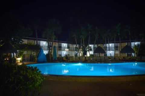 pool shot @ night