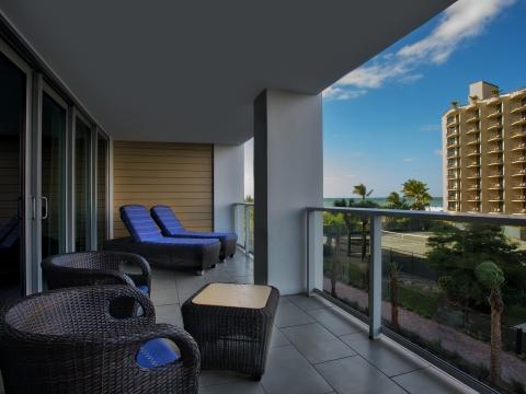 Villa Balcony - Gulf View