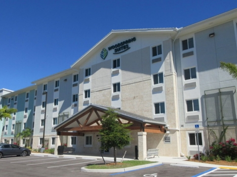WoodSpring Suites at I-75 Exit 101 in Naples, Fla.