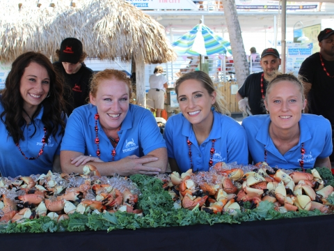 Find plenty of fresh claws at the Naples Stone Crab Festival Oct. 25-27, 2019