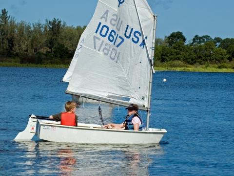 Sugden Regional Park Sailing Center