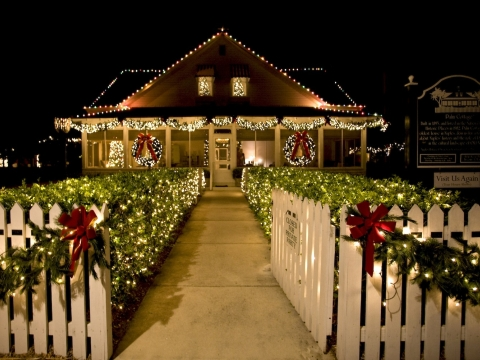 Christmas at Historic Palm Cottage