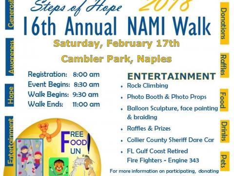 NAMI Walk at Cambier Park