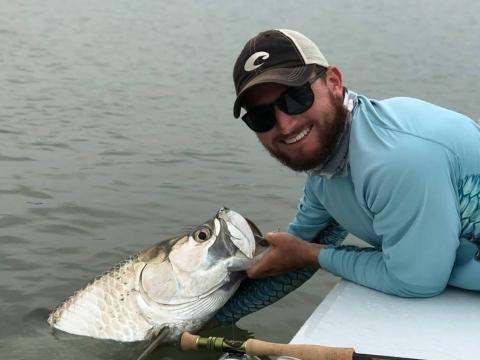 Fly fishing with Capt. Colin McMullen