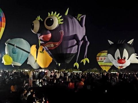 Naples Balloon Glow