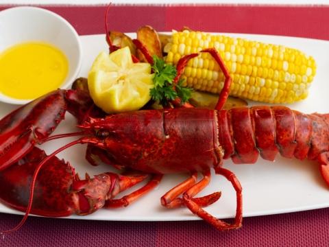 Lobster at Lamoraga