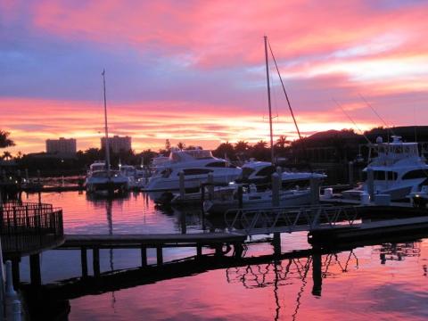 CJ's on the Bay - Fabulous Southwest Florida Sunsets
