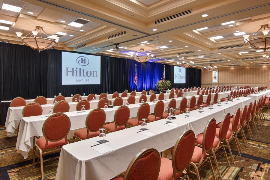 Hilton Naples Meetings - Royal Palm Ballroom