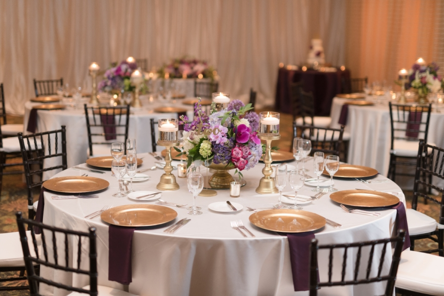 Hilton Naples Wedding Dinners - Sabal Palm Room