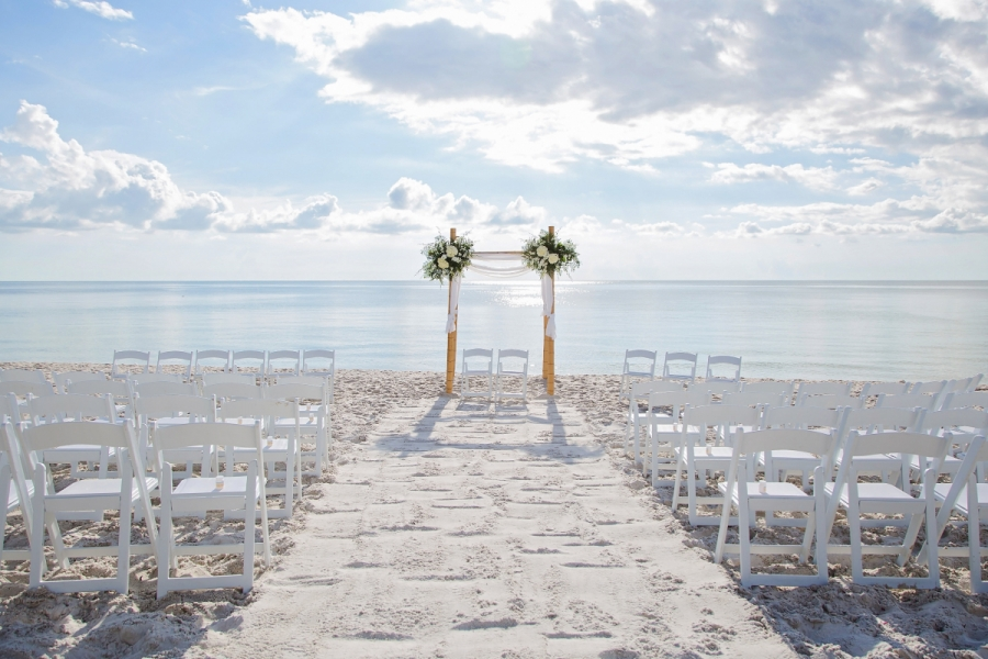 Hilton Naples Beach Ceremony Locations - Via Vedado
