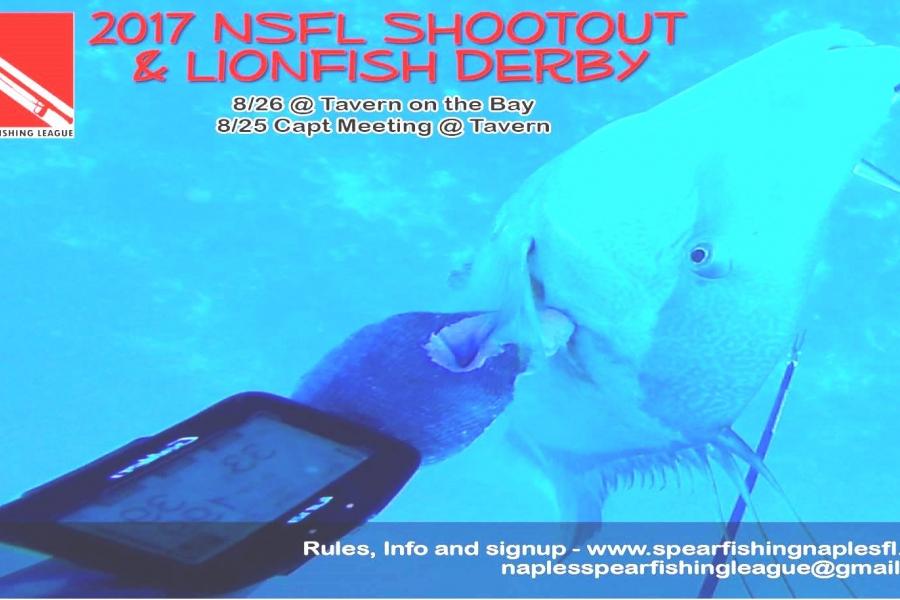 2017 NSFL Shootout & Lionfish Derby