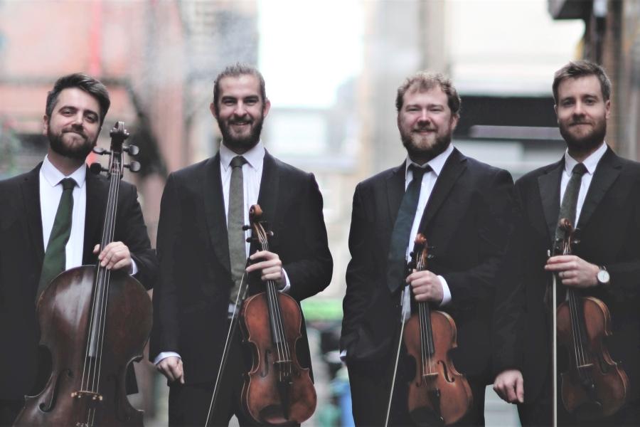 Maxwell Quartet - Beaux Arts Chamber Music Series Jan 22, 2019 Opera Naples Wang Opera Center