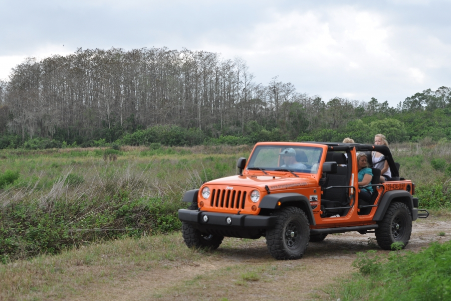 Orange Jeep Tour